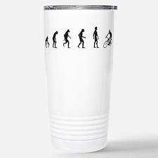 Unique Evolution humor Travel Mug