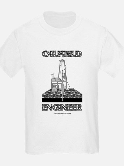 Oilfield EngineerAB DB A4 using T-Shirt