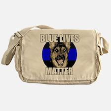 Blue lives matter 2 Messenger Bag