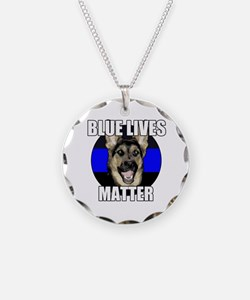 Blue lives matter 2 Necklace