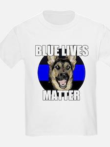 Blue lives matter 2 T-Shirt
