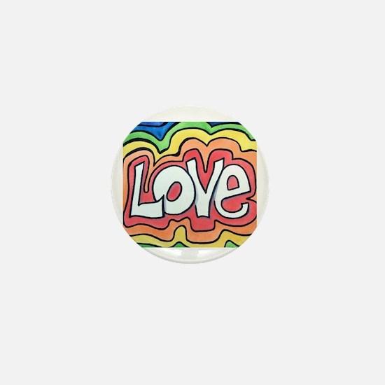 Cute Hippie Mini Button