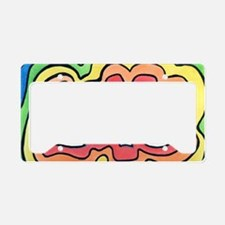 Cute Sixties License Plate Holder