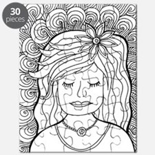 Cute Coloring pages Puzzle