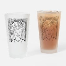 Cute Coloring pages Drinking Glass