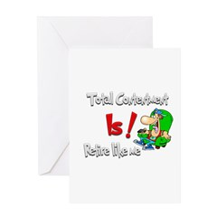 Total Contentment Is! :-) Greeting Card