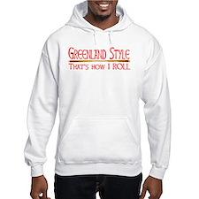 Greenland Style Hoodie