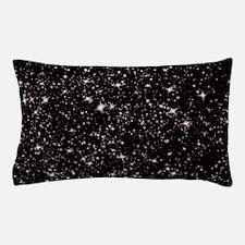 black starry night Pillow Case