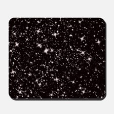 black starry night Mousepad