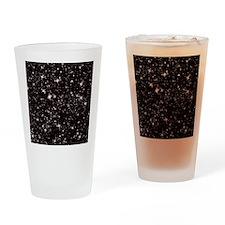 black starry night Drinking Glass