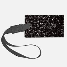 black starry night Luggage Tag