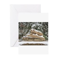Cute Nittany lion Greeting Card