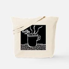 Cute Coffee gal Tote Bag
