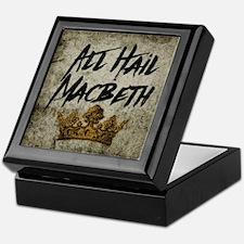 All Hail Macbeth Keepsake Box