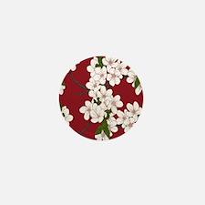 Cherry Blossoms Mini Button