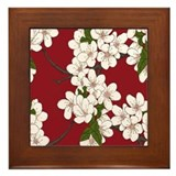 Cherry blossom Framed Tiles