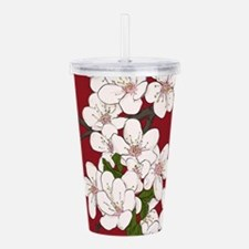 Cherry Blossoms Acrylic Double-wall Tumbler