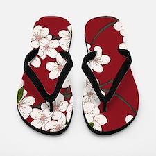 Cherry Blossoms Flip Flops