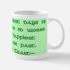Irish Toast Happy & Sad Mug