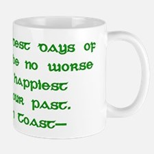 Irish Toast Happy & Sad 4 Mug