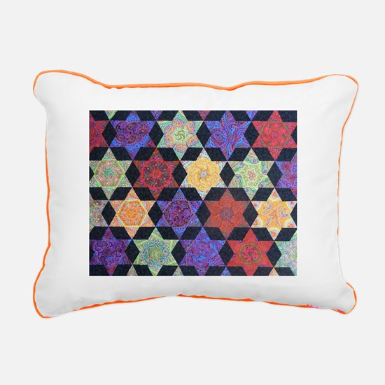 JEWISH STAR OF DAVID Rectangular Canvas Pillow