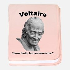 Voltaire Truth baby blanket