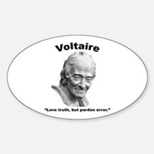 Voltaire Truth Decal