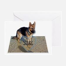 Birthday dog lovers Greeting Card