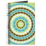 Blue & Brown Mod Journal