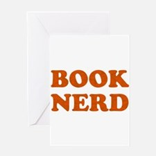Book Nerd Greeting Cards