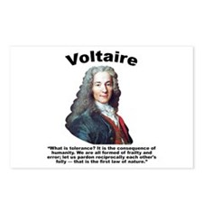 Voltaire Tolerance Postcards (Package of 8)