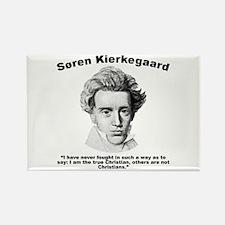 Kierkegaard Christian Rectangle Magnet
