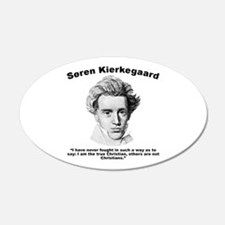 Kierkegaard Christian Wall Decal