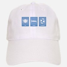 Eat Sleep Football Baseball Baseball Cap