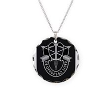 Special Forces Liberator Necklace Circle Charm