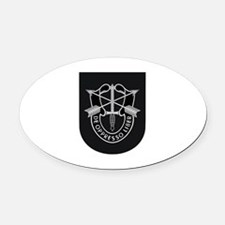 Special Forces Liberator Oval Car Magnet