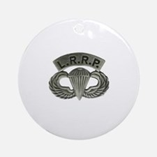 L.R.R.P. jump wings Round Ornament