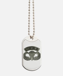 L.R.R.P. jump wings Dog Tags