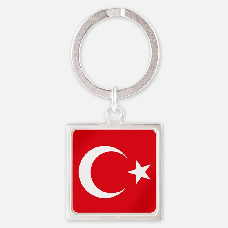 Flag of Turkey Keychains