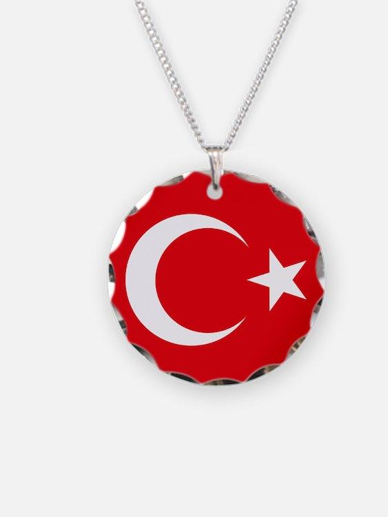 Flag of Turkey Necklace