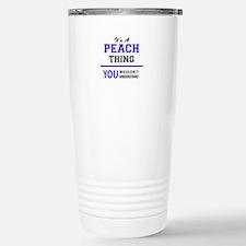 Cool Peaches Travel Mug