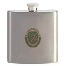 Military Police Crest Flask