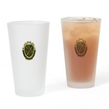 Military Police Crest Drinking Glass