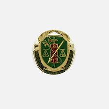 Military Police Crest Mini Button