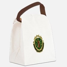Military Police Crest Canvas Lunch Bag