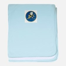 Seabees baby blanket