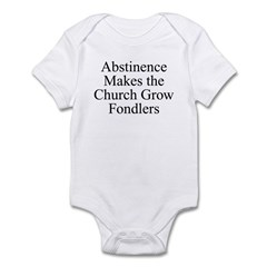 Abstinence Infant Bodysuit