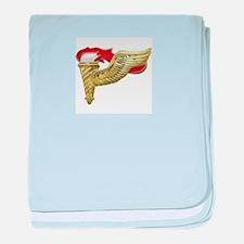 Pathfinder baby blanket