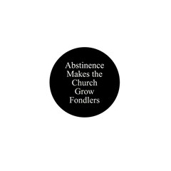 Abstinence Mini Button (10 pack)
