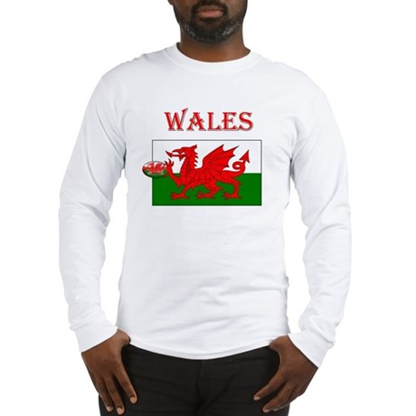 Wales Rugby Long Sleeve T-Shirt